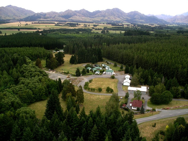Hanmer Springs Aerial Photo